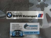 Алюминиевый Шильдик с клеевой основой BMW Motorsport