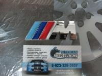 Алюминиевый шильдик с клеевой основой M Power для автомобилей BMW 2 варианта