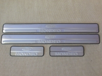 Накладки на пороги Ford Mondeo MK 4 2008-2014