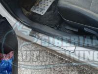 Накладки на пороги Mitsubishi Lancer 10 X