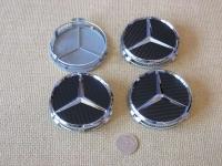 Ступичные колпачки для автомобилей  Mercedes-benz карбон
