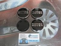 Ступичные колпачки RANGE ROVER черного цвета для автомобилей Land Rover