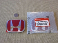 Красная эмблема H 95x77 мм для автомобилей Honda 75700-SNW-003ZC