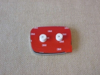 Красная эмблема H 92x75  мм для автомобилей Honda 75700-SNW-J01