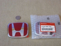 Красная эмблема H 98x80 мм для автомобилей Honda 75700-SMT-E00
