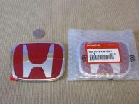 Красная эмблема H 113x92 мм для автомобилей Honda 75700-SNW-003