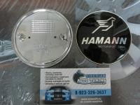 Эмблема Hamann на капот и багажник для BMW 82 мм