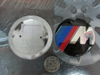 Эмблема M power на капот и багажник для BMW 82 мм