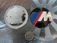 Эмблема M power на капот и багажник для BMW 74 мм