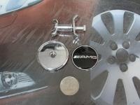 Эмблема AMG на капот для автомобилей Mercedes-Benz 45 мм