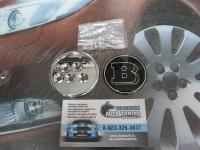 Эмблема Brabus на багажник для автомобилей Mercedes-Benz  60 мм