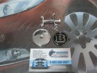 Эмблема Brabus на капот для автомобилей Mercedes-Benz 45 мм