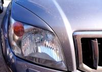 Реснички на фары Toyota Land Cruiser Prado 120 2003-2009