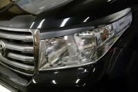 Реснички на фары Toyota Land Cruiser 200 2007-2011