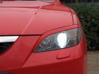 Реснички на фары Mazda 3 1 поколение с 2003-2008 (Hatchback)