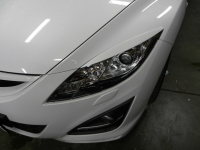 Реснички на фары Mazda 6 2 поколение с 2007-2012