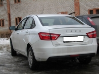 Лип спойлер на кромку багажника RS - Style для Lada Vesta