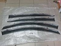 Дефлекторы окон с хромированным молдингом, Ветровики для Honda Accord 9 2013+