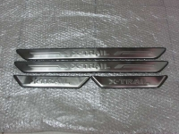 Накладки на пороги Nissan X-trail c 2007-2013