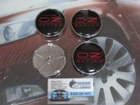 Ступичные колпачки OZ racing (черные)