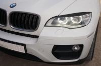 Реснички на фары BMW X6 E71 Led