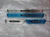 Светодиодные накладки на пороги Hyundai Tucson 2015 - 3 поколение
