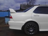 Спойлер высокий в стиле Type R на Honda Accord 6 вар 2