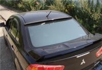 Козырек на заднее стекло гладкий Mitsubishi Lancer 10 X 2007-2011