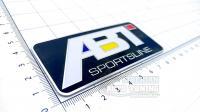 Алюминиевый шильдик с клеевой основой ABT для автомобилей Audi