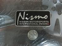 Алюминиевый Шильдик с клеевой основой Nismo для автомобилей Nissan ver2