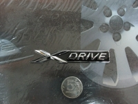 Алюминиевый шильдик с клеевой основой X Drive для автомобилей BMW