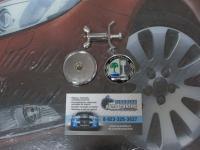 Эмблема AMG Affalterbach на капот для автомобилей Mercedes-Benz 45 мм