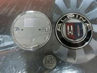 Эмблема на капот и багажник Alpina для BMW 82мм