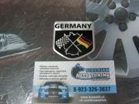 Алюминиевый Шильдик с клеевой основой GERMANY