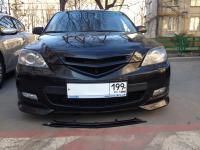 Центральная вставка на Клыки Sport Mazda 3 2004-2008 хэтчбек HB