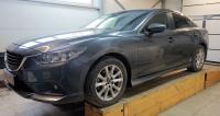 Пороги на Mazda 6 2013-2017 седан