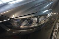 Реснички на фары Mazda 6 2013-2017