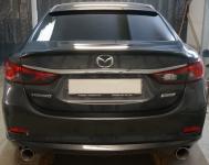 Лип Спойлер MPS на кромку багажника на Mazda 6 2013-2017