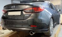 Лип Спойлер на кромку багажника на Mazda 6 2013-2017
