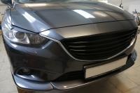 Накладка на передний бампер MPS на Mazda 6 2013-2017