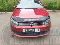 Дефлектор капота (Мухобойка) на Volkswagen Polo 2009г+