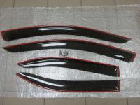 Дефлекторы окон с креплением, Ветровики для Honda Accord 2002-2007