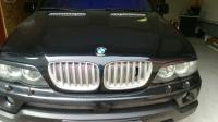Реснички на фары BMW X5 E53 2004-2007 Накладки на фары