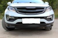 Тюнинг обвес губа переднего бампера KIA Sportage 2010 - 2015