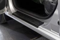 Накладки на внутренние пороги дверей Renault Logan 2014+
