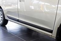 Молдинги на двери Renault Logan 2014+