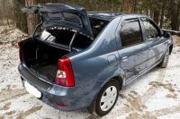 Накладка на порожек багажника Renault Logan 2004-2010
