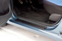 Накладки на внутренние пороги дверей Renault Logan 2004-2010