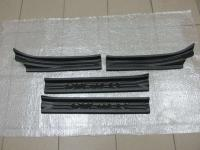 Накладки на внутренние пороги дверей Renault Duster (на все года)