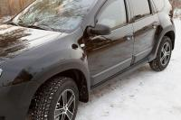 Молдинги на двери Renault Duster 2010-2014